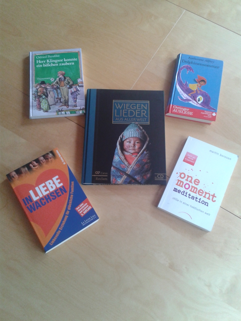 #Bücher; #lesen; #attachment parenting; #meditation; #Kinderbücher; #Wiegenlieder
